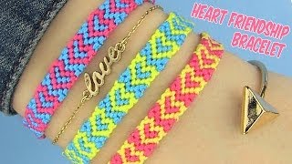 getlinkyoutube.com-DIY Heart Friendship Bracelets