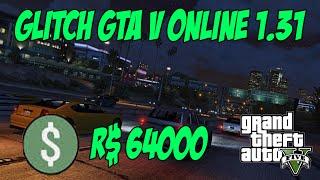 getlinkyoutube.com-NOVO GLITCH DINHEIRO GTA V ONLINE 1.31 - R$64000 EM 10/15 MINUTOS
