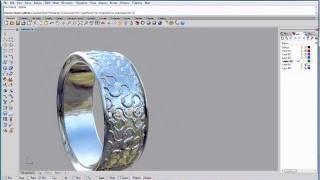 getlinkyoutube.com-Rhino tutorial making a basic tiled texture ring