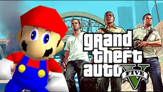getlinkyoutube.com-Grand Theft Mario - If Mario was in...GTA V