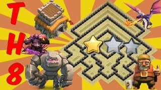 getlinkyoutube.com-Th8 War Base 2016 Anti Everything-Anti Gowipe+Anti Dragon+Anti Hog+Anti 2 Star
