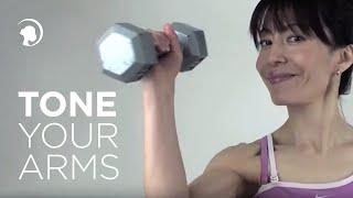 getlinkyoutube.com-Tone Your Arms Doorknob Style http://faceyogamethod.com/ - Face Yoga Method