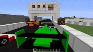 getlinkyoutube.com-Minecraft: F1 race on bukkit server