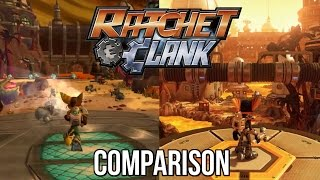 getlinkyoutube.com-Ratchet and Clank PS4 | Planet Gaspar PS2 vs PS4 Comparison
