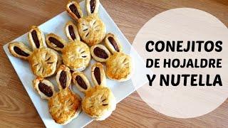 getlinkyoutube.com-Conejitos de hojaldre y nutella - RECETA