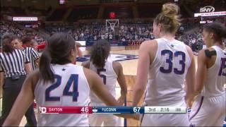 getlinkyoutube.com-UConn Women's Basketball vs Dayton Highlights