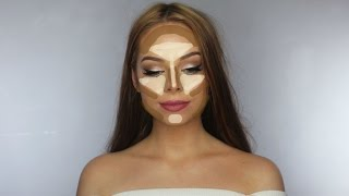 getlinkyoutube.com-HOW TO CONTOUR & HIGHLIGHT / Makeup Mekka