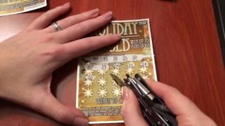 getlinkyoutube.com-$5 Holiday Gold - Michigan Lottery - 12/4/16