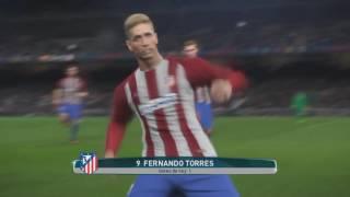 getlinkyoutube.com-Barcelona vs Atletico Madrid PES 2017  Relatos Rodolfo De Paoli