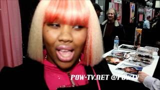 getlinkyoutube.com-Spicee Cajun Shows Donk, Plays With Toys & Touches Mr. Marcus Butt At Exxxotica in NJ