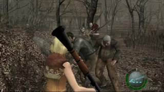 getlinkyoutube.com-RESIDENT EVIL 4 WII EDITION ASHLEY GRAHAM SALVA A LEON