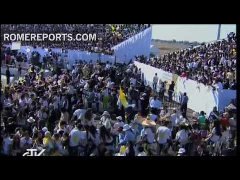 March 2012  The Pope travels to Mexico and Cuba