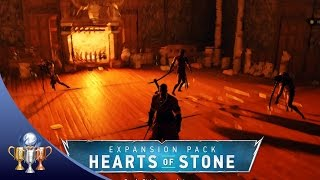 getlinkyoutube.com-Witcher 3 Hearts of Stone - [MISSABLE] When it's many against one - Iris von Everec Boss