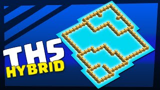 getlinkyoutube.com-Clash of Clans | Town Hall 5 Hybrid Base, ANTI Giant, Barch | TH5 TH 5