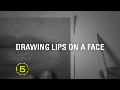 Tips for Drawing Mouths No. 3: Edges of Lips