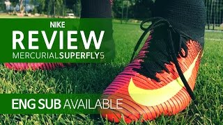 getlinkyoutube.com-[ENG/KOR] 머큐리얼 슈퍼플라이 5 리뷰 (Mercurial Superfly 5 FG Review , 올댓부츠)