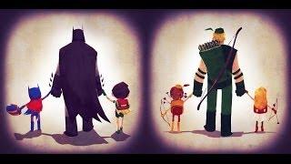 getlinkyoutube.com-Дети Супергероев DC и Marvel [by Кисимяка]