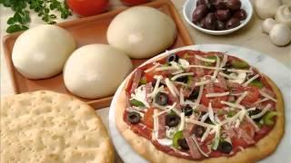 getlinkyoutube.com-عجينة البيتزا ناجحة مثل المطاعم مع خبيرة الطبخ هدى اليداري | سر عجينة البيزا الناجحة