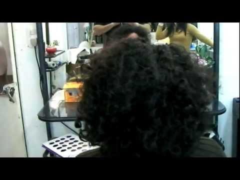 Hair Straightening Tutorial - Alisado en Cabello Dificil