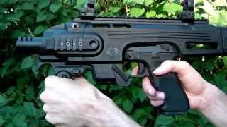 getlinkyoutube.com-CAA Roni Glock Carbine Kit Review