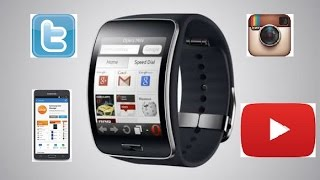 getlinkyoutube.com-In-depth Review Best Apps Samsung Gear S Smart watch Including TWITTER! 2015
