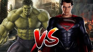 Superman VS Hulk | Who Wins?