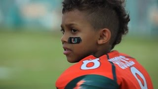 getlinkyoutube.com-Miami Football Team Makes a Dream Come True For Carter Hucks (Make-A-Wish)