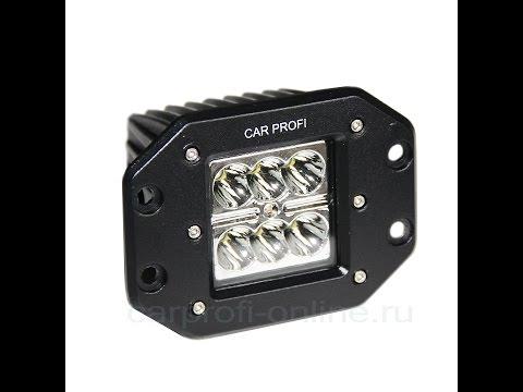 CARPROFI NEW LIGHT CP-BL-24 SPOT C06, СВЕТОДИОДНАЯ ФАРА 24W, CREE