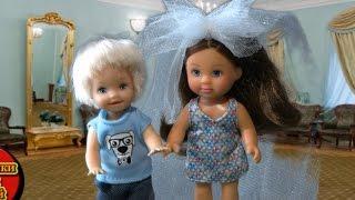 getlinkyoutube.com-девочка Катя и Томми поженились, серия 3, Томми жизнь после свадьбы, мультики с пупсиками
