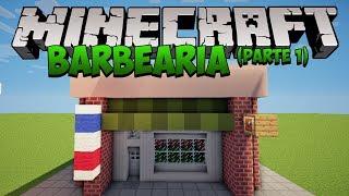 getlinkyoutube.com-Minecraft: Construindo uma Barbearia (parte 1 | Barber Shop)