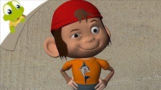 getlinkyoutube.com-Five Little Monkeys 3D and other songs