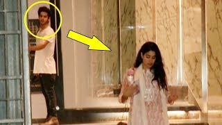 Ishaan Khattar's Caring Gesture Towards Girlfriend Janhvi Kapoor