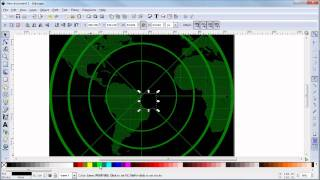 getlinkyoutube.com-Inkscape Tutorial: Create a Military Radar Screen