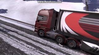 Euro Truck Simulator 2 Scania R480 Stuck in the snow