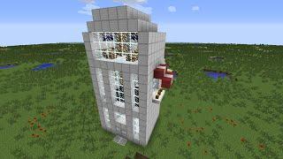 getlinkyoutube.com-Hur Man Gör En Snabb Hiss i Minecraft 1.7/1.8
