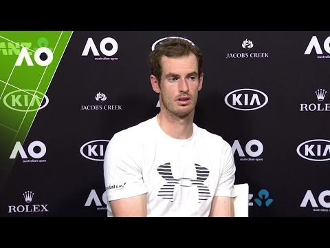 Andy Murray press conference (4R) | Australian Open 2017