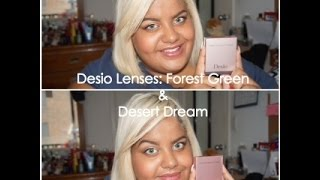 getlinkyoutube.com-Desio Lens Review: Forest Green and Desert Dream
