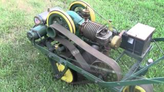getlinkyoutube.com-90 YEAR OLD MOWER STILL WORKS