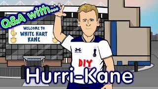 getlinkyoutube.com-Harry Kane Q&A! (Parody Man City vs Tottenham 2017 Preview)