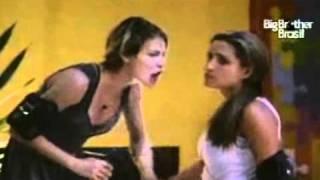 getlinkyoutube.com-bbb 11 festa rasta Natalia discute com Diana