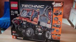 getlinkyoutube.com-Test Lego Set 8110: Unimog U400 (Serie: Technic)