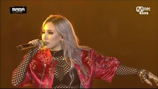 getlinkyoutube.com-CL - '나쁜 기집애' + 'HELLO BITCHES' & 2NE1 - 'FIRE' + '내가 제일 잘 나가' in 2015 MAMA