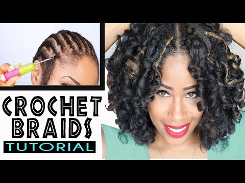 How To: CROCHET BRAIDS w/ MARLEY HAIR !