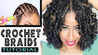 getlinkyoutube.com-How To: CROCHET BRAIDS w/ MARLEY HAIR ! (ORIGINAL no-rod technique!)