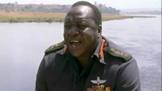 Idi Amin gives away his plans to invade Israel. width=