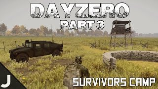 getlinkyoutube.com-ArmA 3: DayZero - Part 3 - Survivors Camp!
