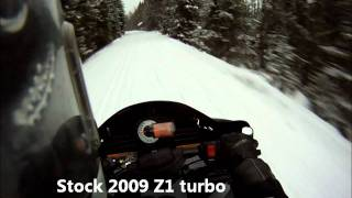TD F1100T and Z1 rough trail GPS speed testing