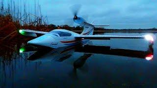 Test Flight of my 3-Blade Prop on my Flyzone / ST Models Seawind - December 15, 2015