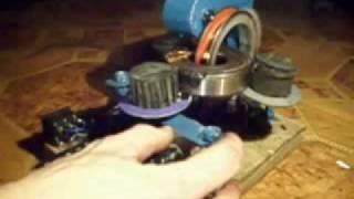getlinkyoutube.com-Nawijarka transformatorów toroidalnych (toroid winder)