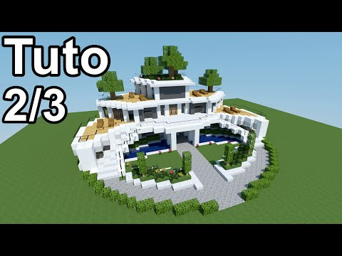 Minecraft tutoriel - Maison moderne ! 2/3